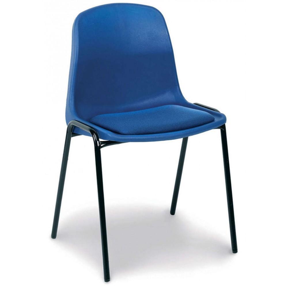 CB05 Upholstered Plastic Stacker