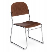 Vesta Wooden Stacking Chair