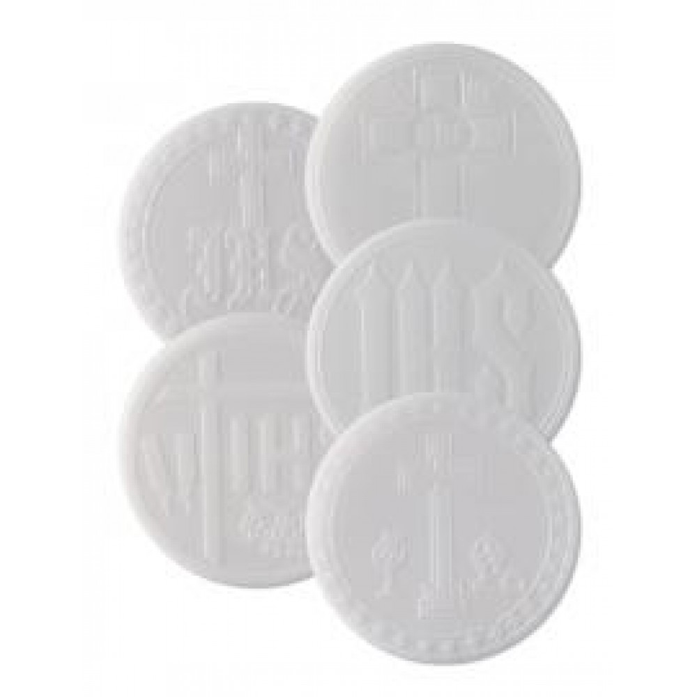 2.3/4in Sealed Edge Mixed Priests Wafer - Pack of 50