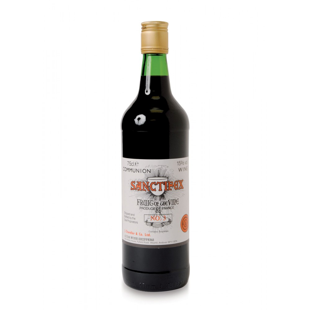 Sanctifex Red Altar Wine - Pack 12 x 75 cl Bottles