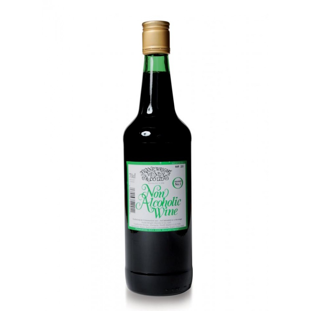 Frankwright Mundy Non Alcoholic Wine 12 x 70cl