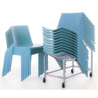 Plaza Stacking Chair Trolley