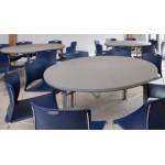 Polyfold Premium Round Folding Table