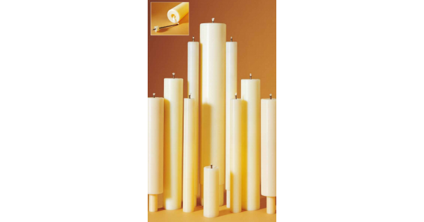 Oil filled candles 75mm 9 x 75mm oil filled candle for Oil filled candlesticks