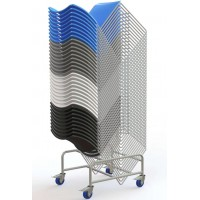 Edge Stacking Chair Trolley