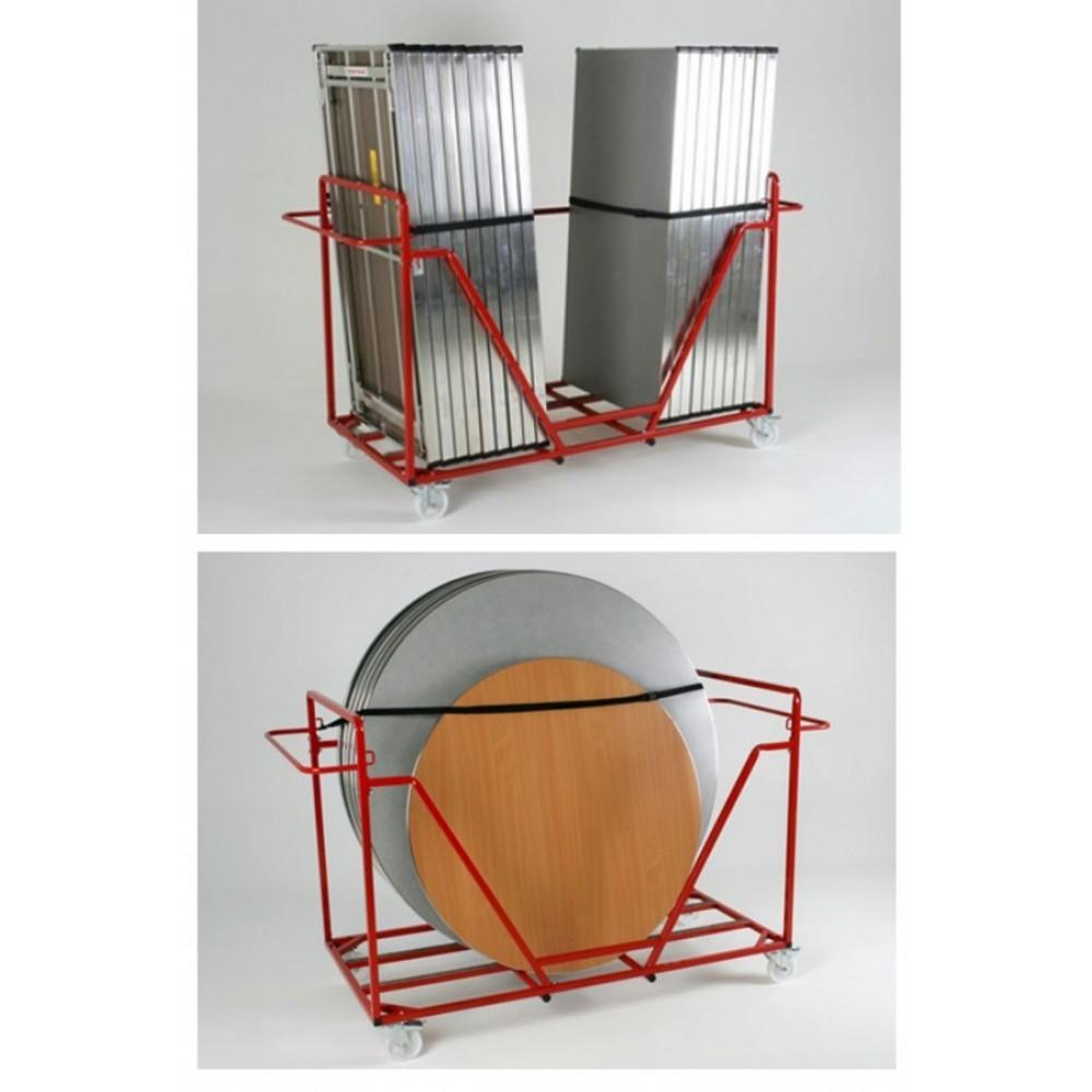 Large Lightweight Aluminium Table Trolley