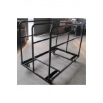 Round Trestle Table Trolley